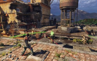 Uncharted 2 Multiplayer Screenshot
