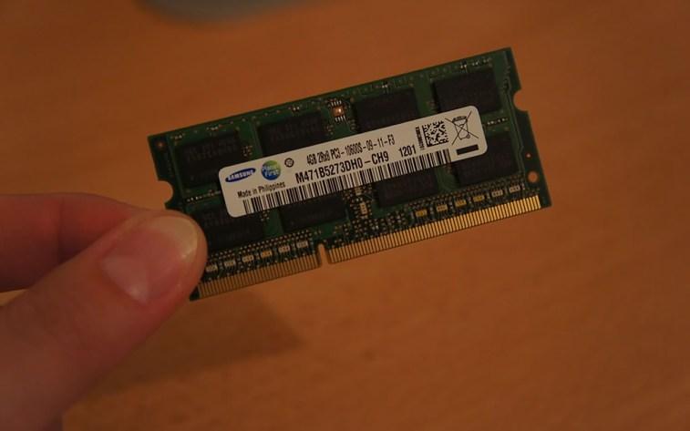 Samsung 16GB (4x 4GB RAM DDR3 1066 / 1067 MHz)