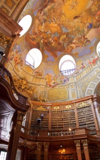 Prunksaal der Österreichischen Nationalbibliothek.