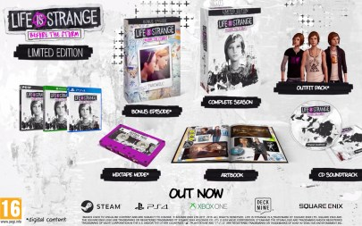 Life is Strange: Before the Storm Limited Ediiton