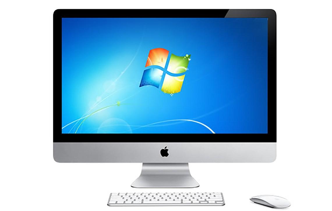 Apple iMac Win7