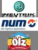 Logo Neutrik, NUM, Ölz