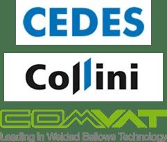 Logo Cedes, Collini, Comvat