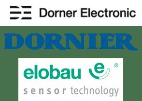 Logo Dorner Electronic, Lindauer Dornier, Elobau