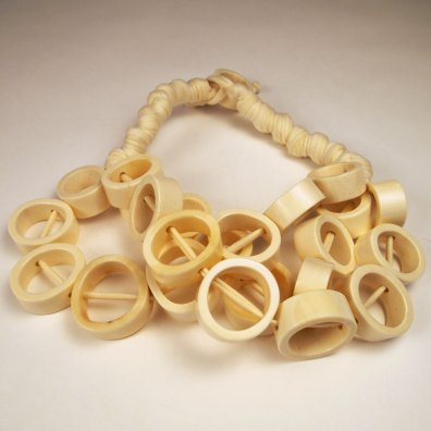 Layered Hoop Necklace by Meché Correa