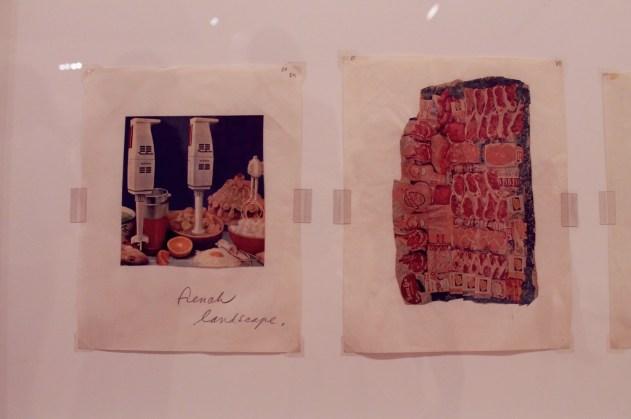 """Claes Oldenburg - """"French Landscape #2"""" - 1964"""