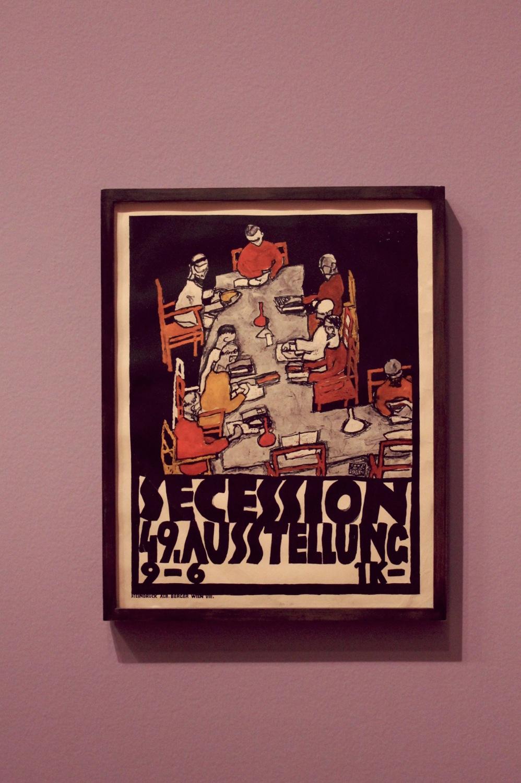 "Egon Schiele, ""Secession 49. Ausstellung Plakat"", 1918"