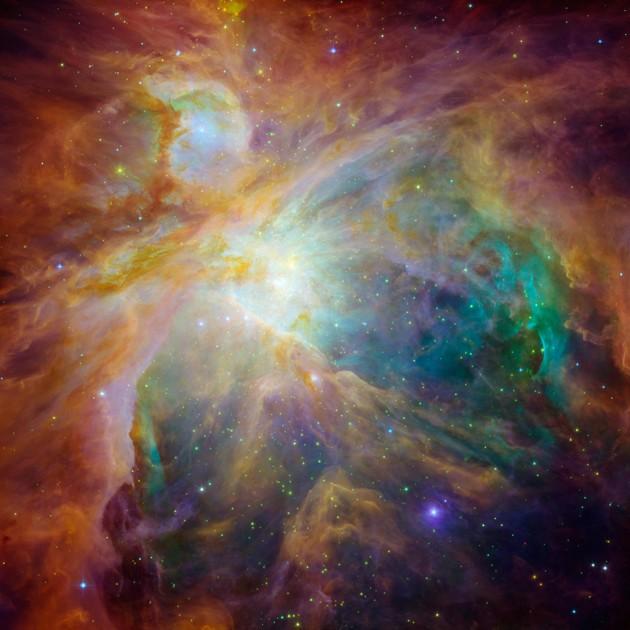 IMG3 -Chaos at the heart of Orion - NASA