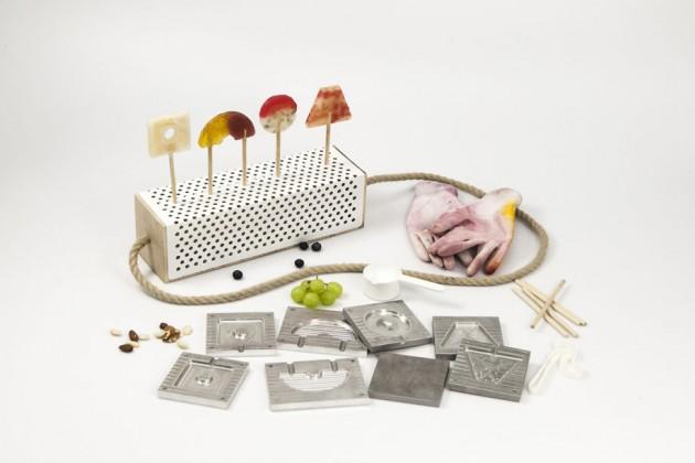 """""""Something Sweet"""", di Tessa Geuze. Un kit per preparare lecca lecca con frutta e sapori stagionali"""
