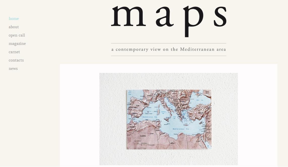 la homepage del sito