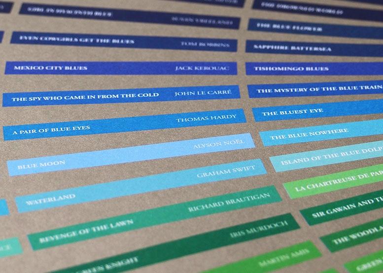 The colour of books