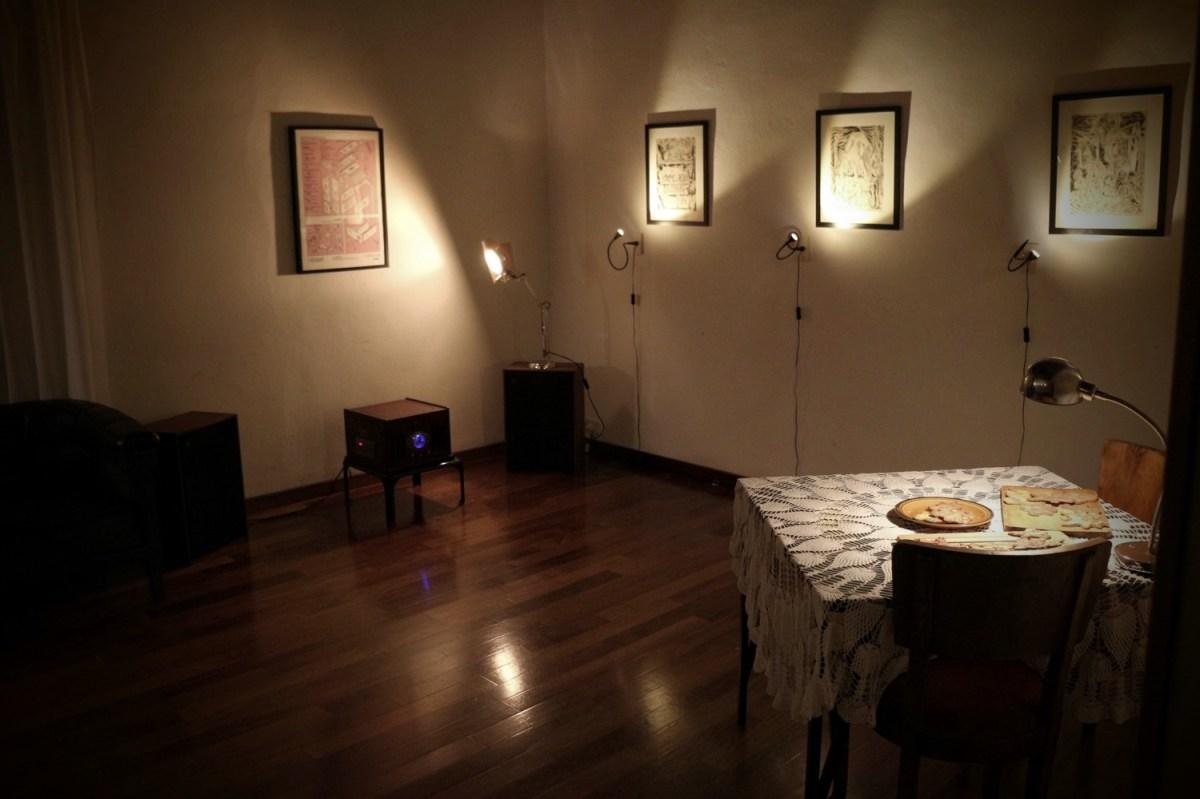 """dalla mostra """"Inferno Domestico"""", di Hurricane (foto: Frizzifrizzi)"""