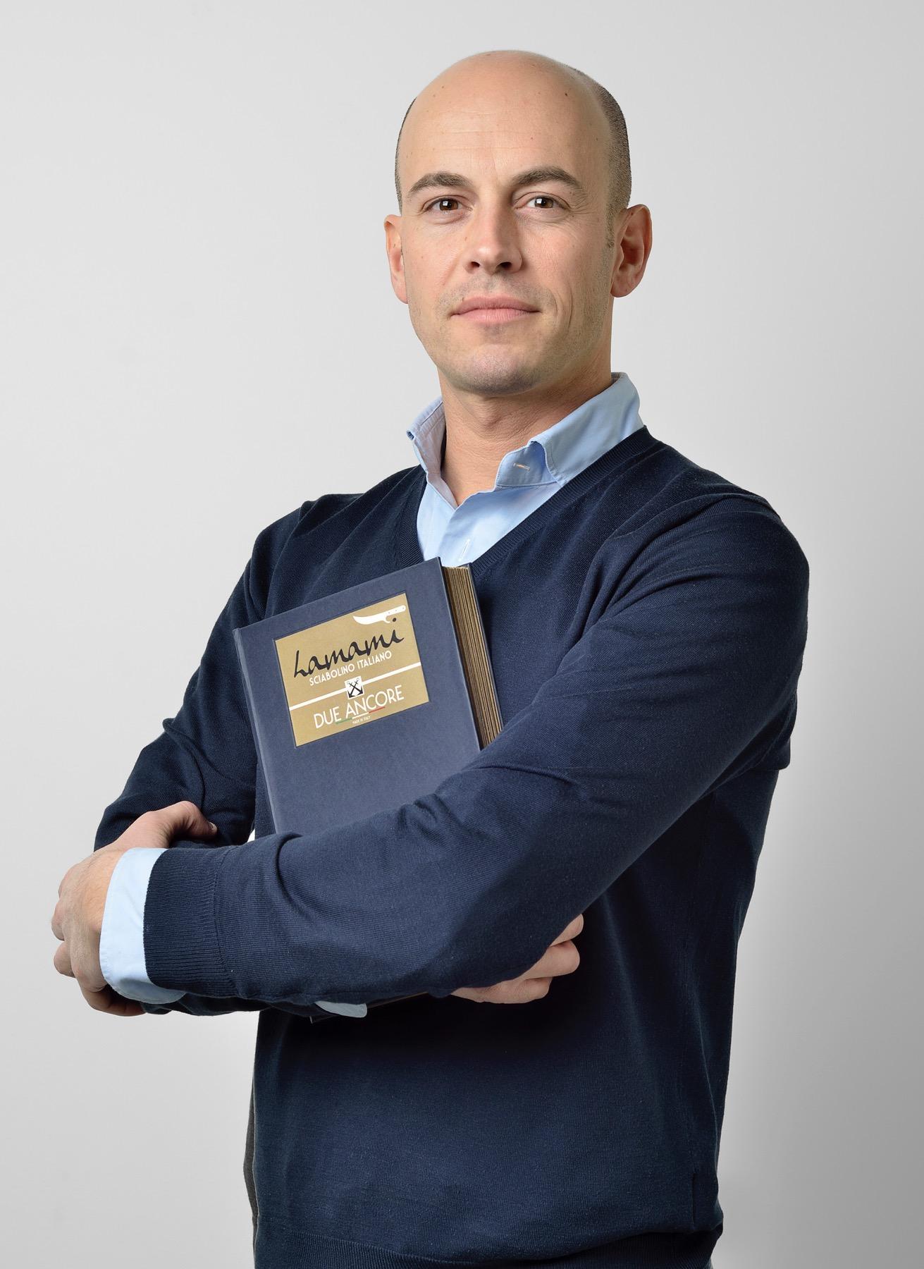 Andrea Girolami, attuale titolare dell'azienda