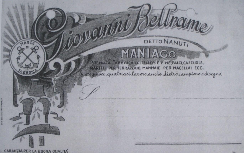 Carta intestata del 1912