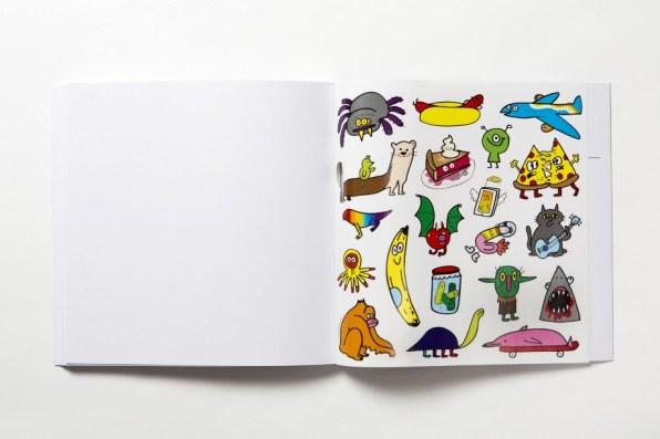 """Jon Burgerman's Daily Doodle"", di Jon Burgerman, Laurence King, agosto 2017"