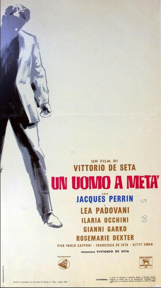 """""""Un uomo a metà"""" di Vittorio De Seta, 1966 artwork: Sandro Symeoni (fonte: facebook.com/SandroSymeoni)"""