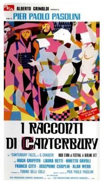 """""""I racconti di Canterbury"""" di Pier Paolo Pasolini, 1972 artwork: Sandro Symeoni (fonte: facebook.com/SandroSymeoni)"""
