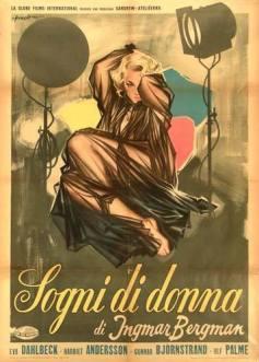 """Sogni di donna"" di Ingmar Bergman, 1955 artwork: Sandro Symeoni (fonte: facebook.com/SandroSymeoni)"