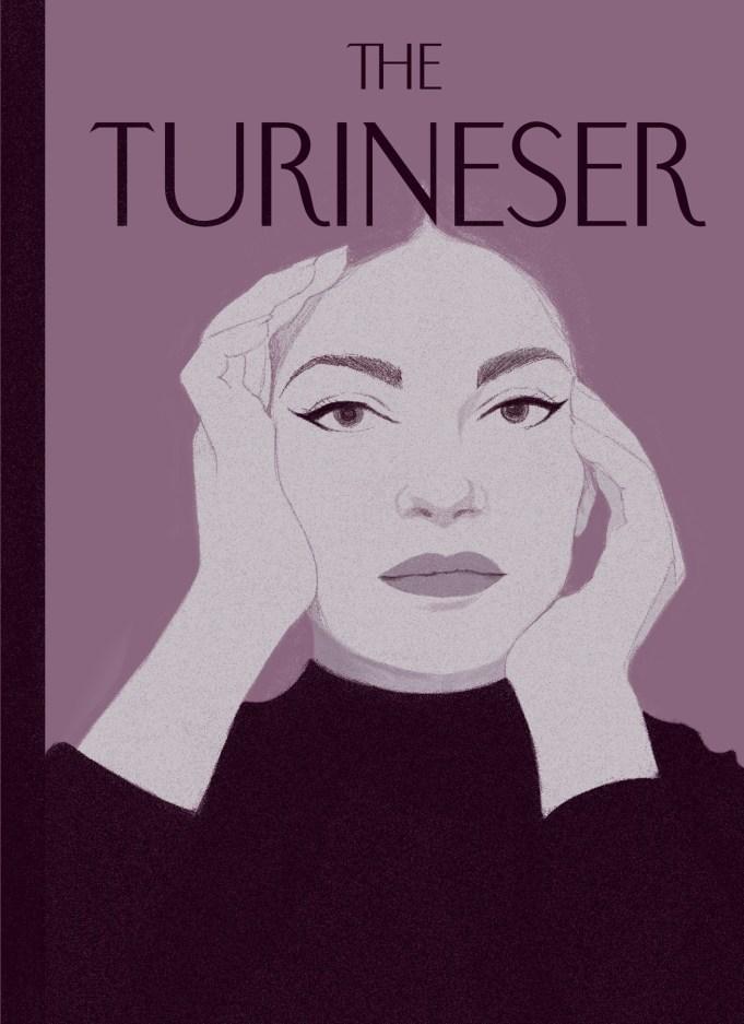 Maria Callas illustrazione di Giulia Milos (courtesy: Matteo Riva)