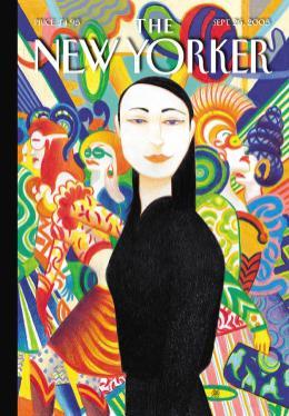 Lorenzo Mattotti, copertina del 26 settembre 2005 (fonte: condenaststore.com)