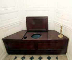Marie-Antoinette's flush toilet, via The British Association of Urological Surgeons | http://www.baus.org.uk/Sections/history/toilets-female