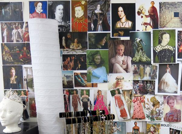 Some of Reign costume designer Meredith Markworth Pollack's inspirations.