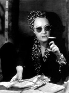 Gloria Swanson as Norma Desmond in Sunset Boulevard (1950)