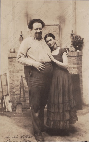 Diego Rivera & Frida Kahlo, 1931