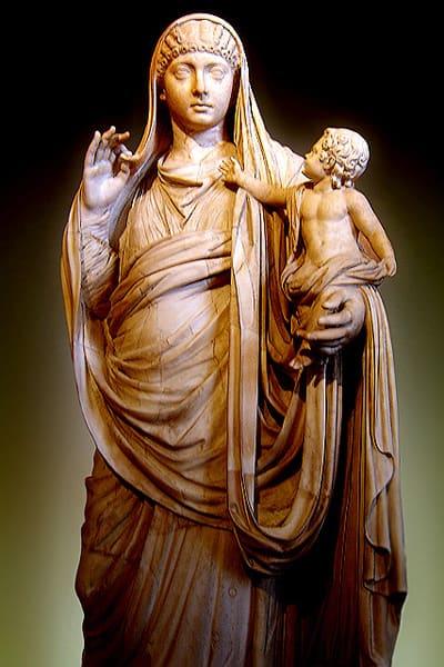 Statue of Messalina, 45 CE