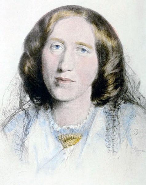 George Eliot, 1864, by Frederick William Burton
