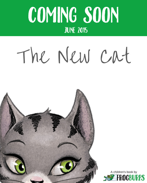 Cover Reveal – The New Cat