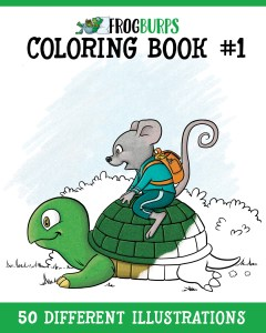 Frogburps Coloring Book #1: A Family Coloring Book