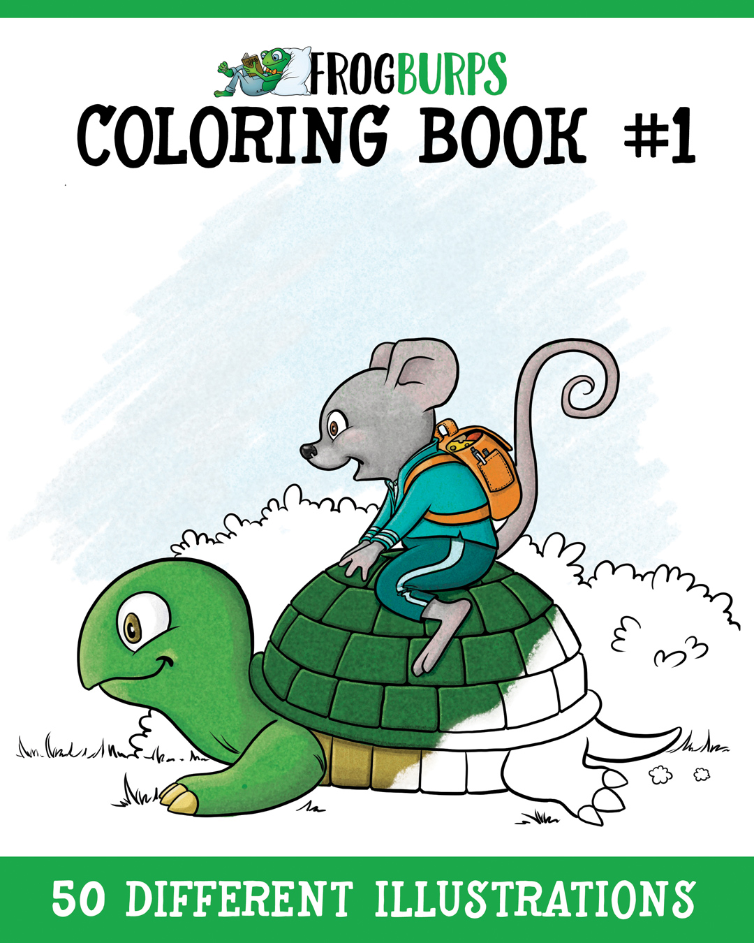 Buy our first coloring book
