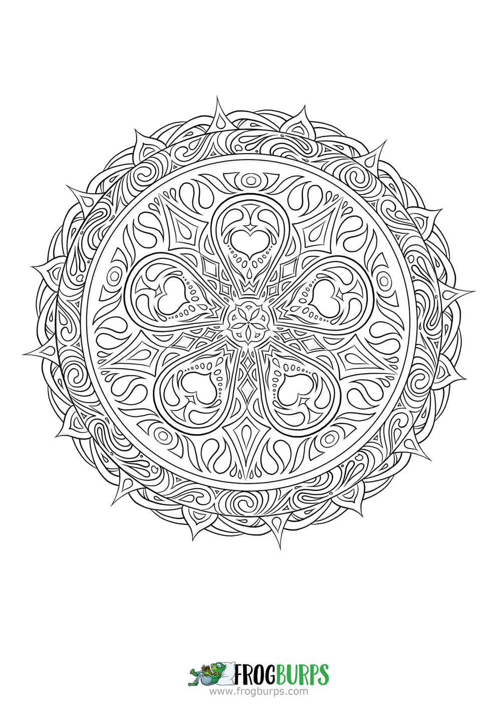 Pattern 1 | Coloring Page