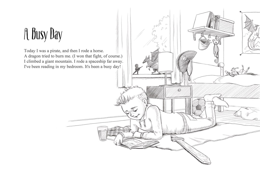 A Busy Day | A short story from Frogburps