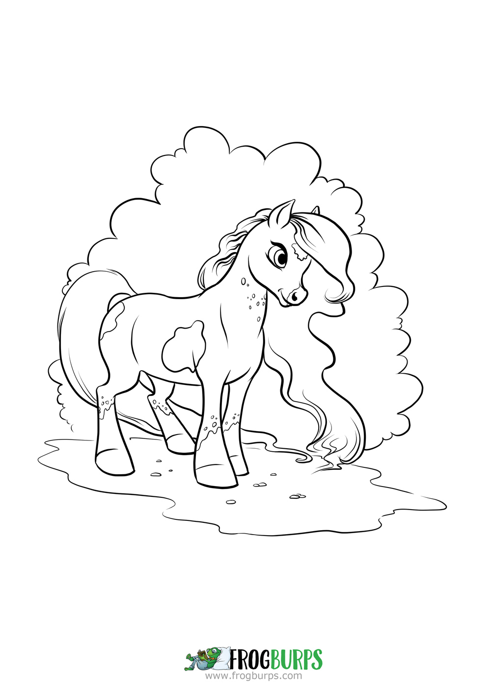 Pony | Coloring Page