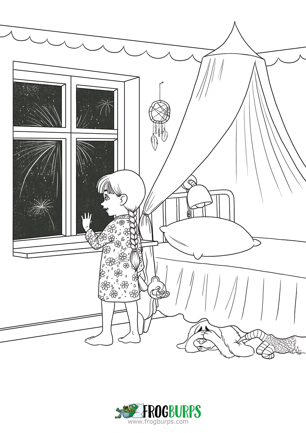 Fear | Coloring Page