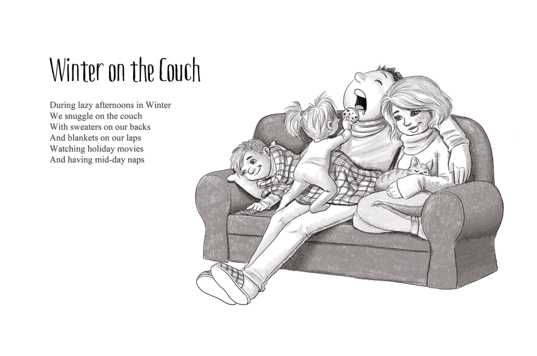 Winter on the Couch - a short story by Patrick S. Stemp and Anita Soelver