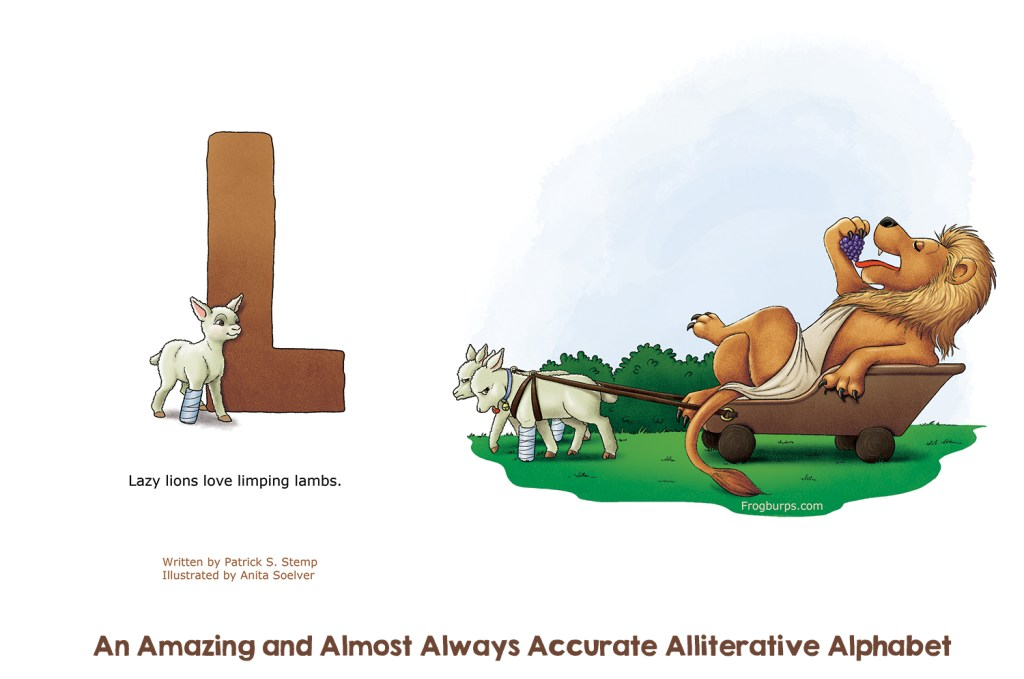 L - Alliterative Alphabet by Frogburps