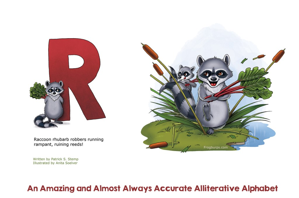 R - Alliterative Alphabet by Frogburps