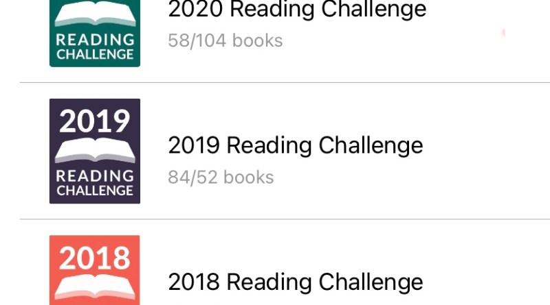 Goodreads reading challenge historic