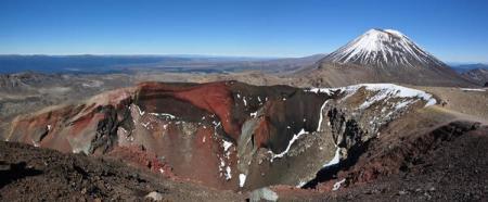 Le Parc National des volcans du Tongariro