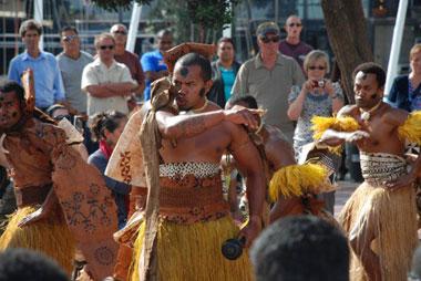 Tonga danse