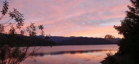 waikaremoana sunset