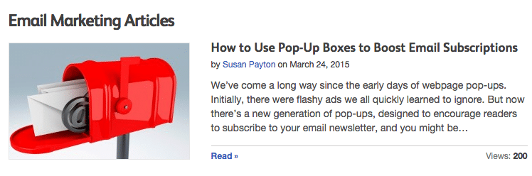 How to Use Pop-Up Boxes to Boost Email Subscriptions