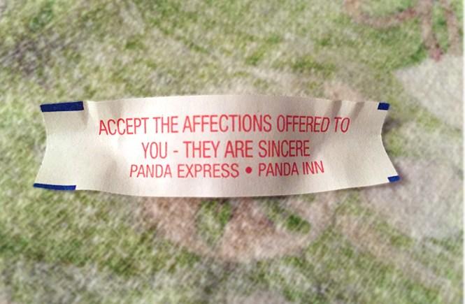 Fortune cookie fortune.