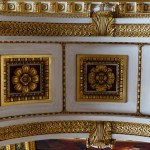 Archway ceiling pattern.