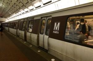 Photo of a metro car.