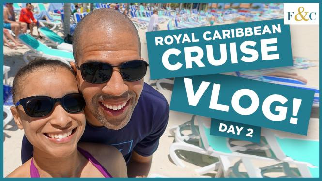 Cruise vlog Day 2: CocoCay & Formal Night thumbnail.