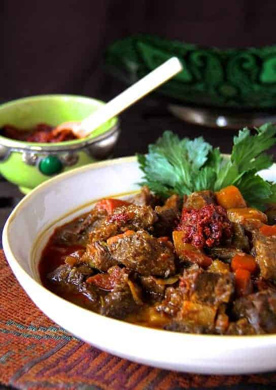 Moroccan Beef Stew - Hearty and So Flavorful! From A Chef